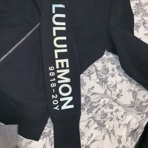Lululemon 20th anniversary black scuba hoodie